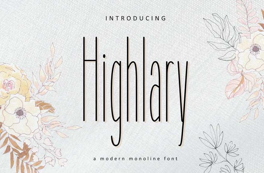 Highlary Font