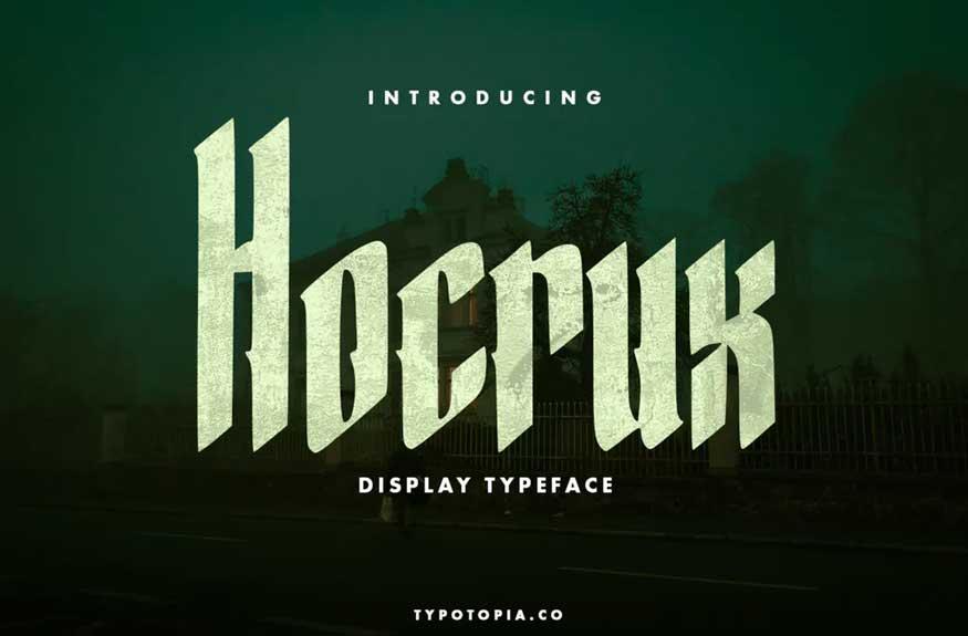 Hocrux Font