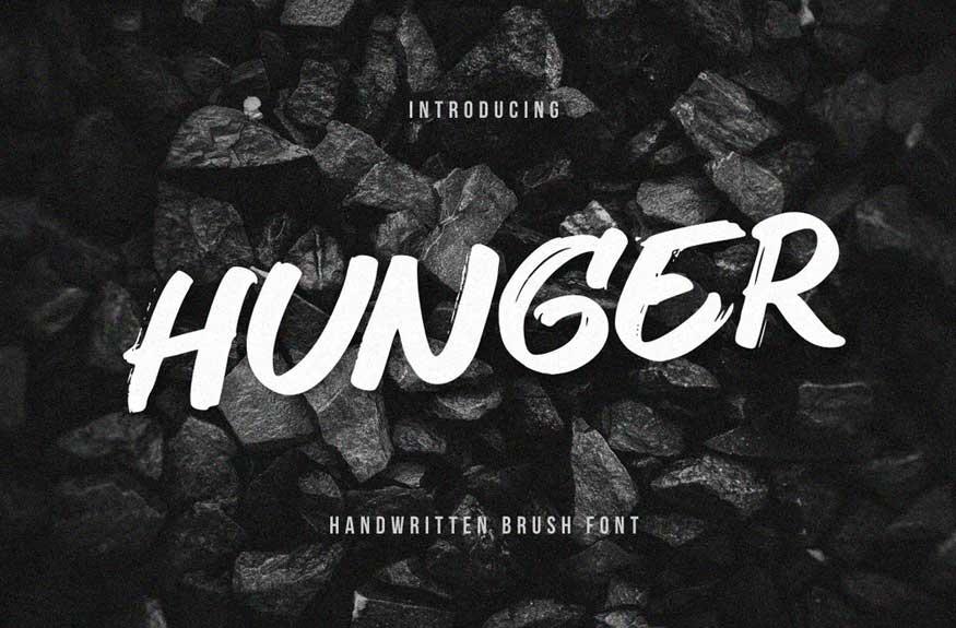 Hunger Font