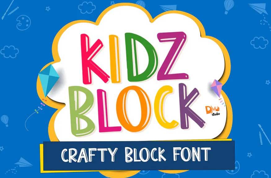 Kidz Block Font