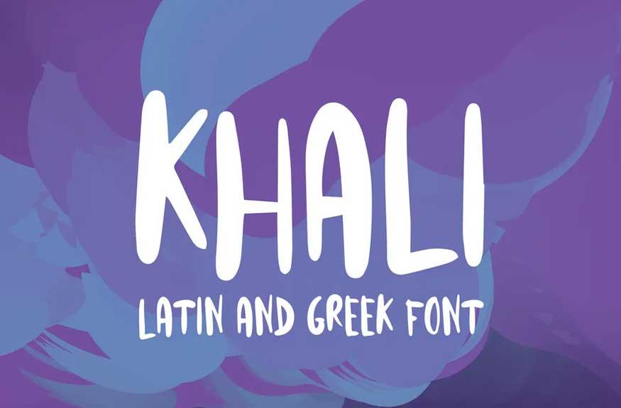 Khali Font