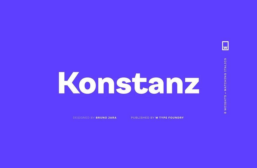 Konstanz Font Family