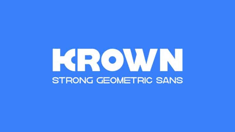 Krown Font Family