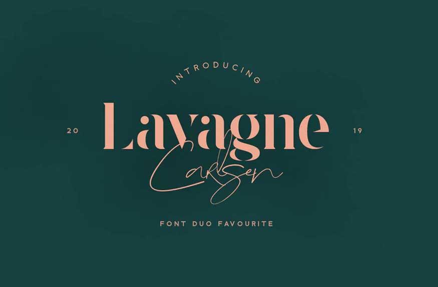 Lavagne Carlsen Font