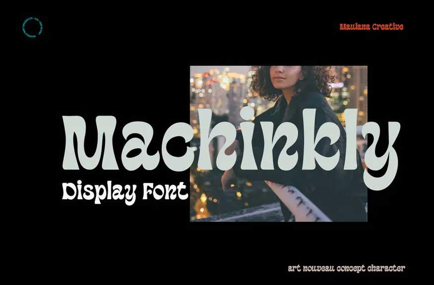 Machinkly Font