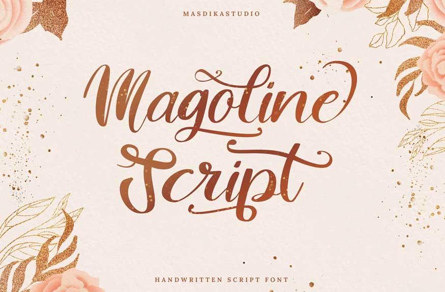 Magoline Script