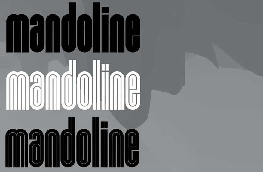 Mandoline Font