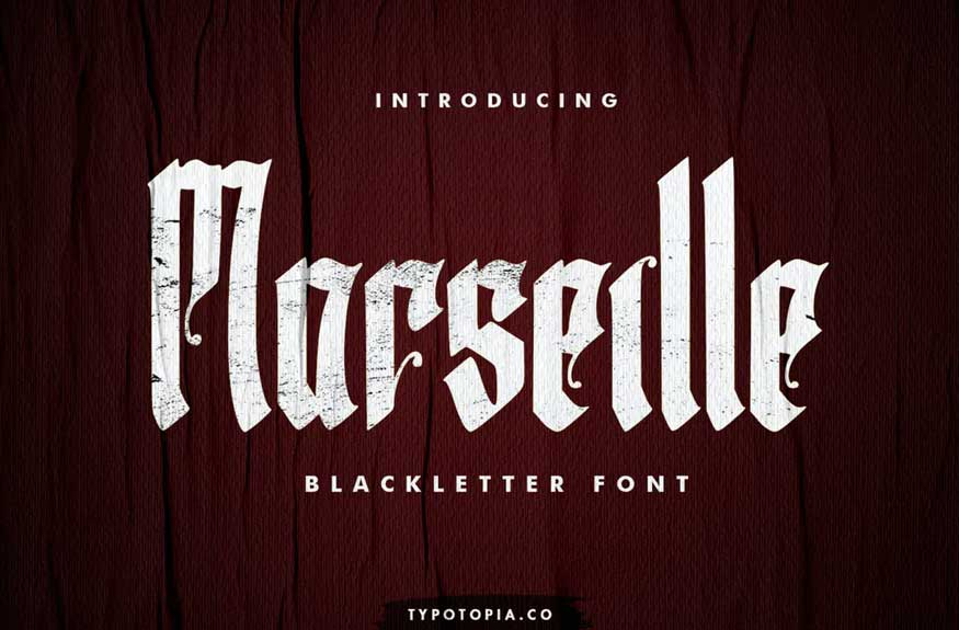 Marseille Font