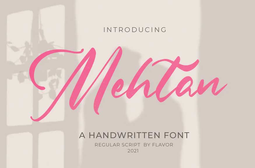 Mehtan Font