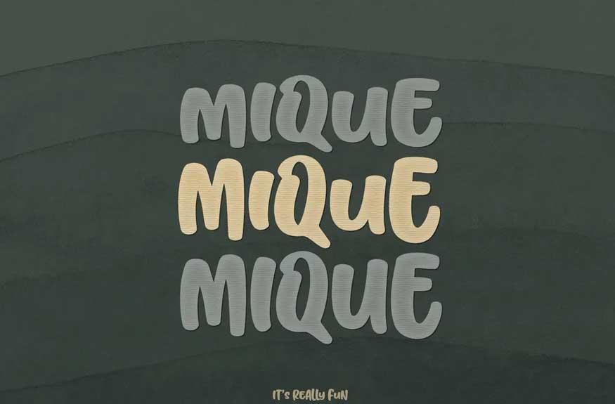 Mique Font