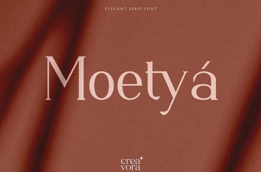 Moetya - Elegant Serif Font