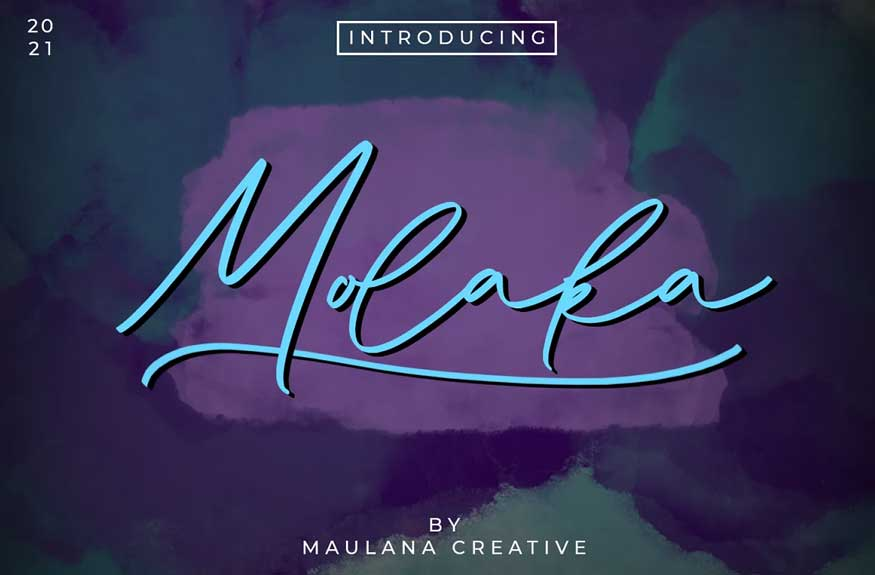 Molaka Font