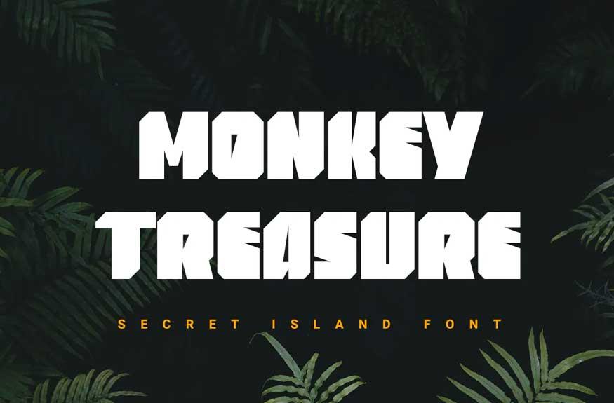 Monkey Treasure Font
