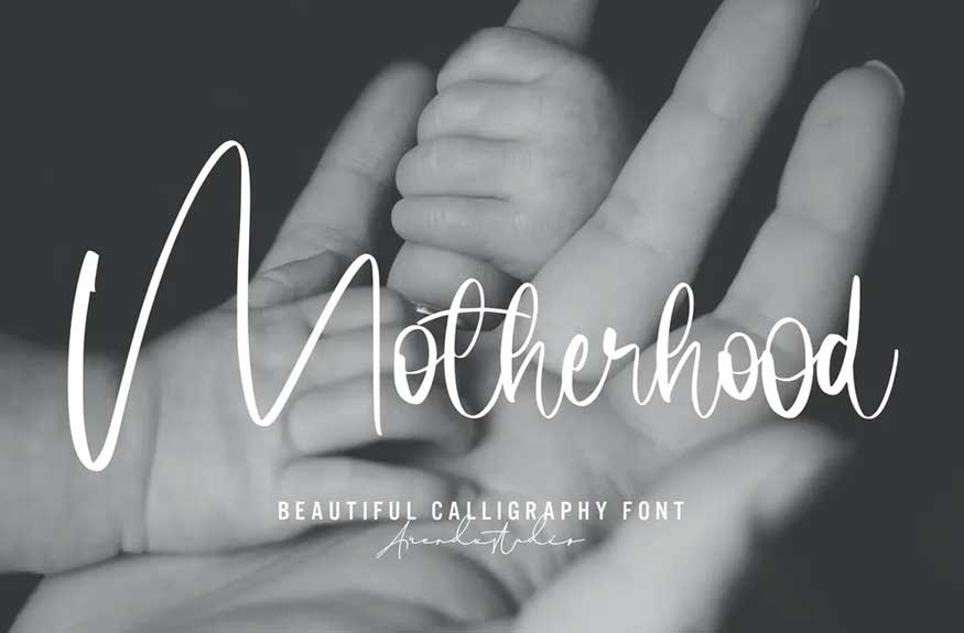 Motherhood Font