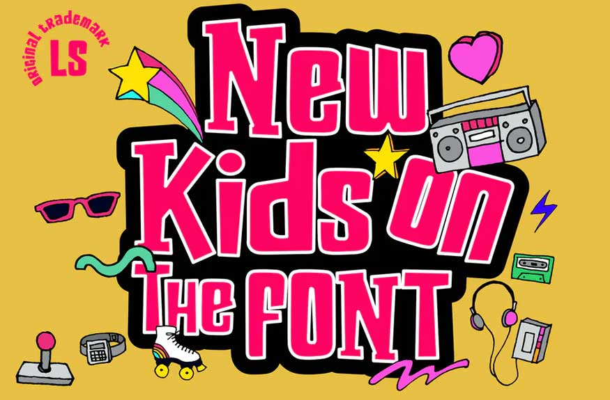 New Kids on the Font