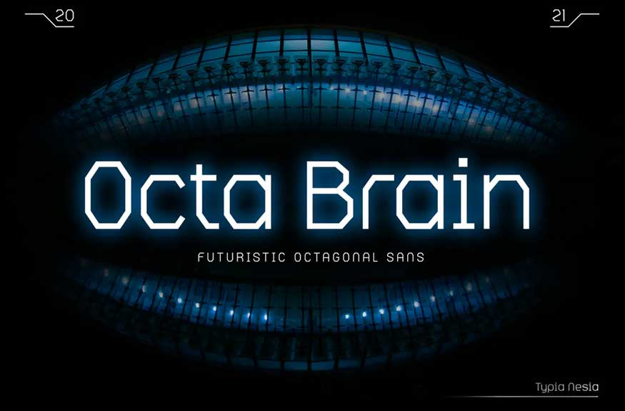 Octa Brain Font