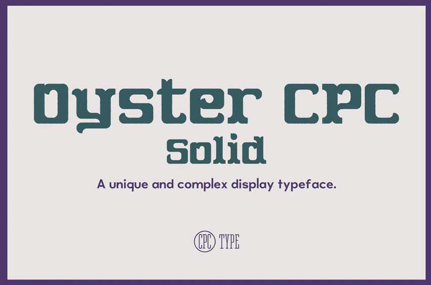 Oyster CPC Solid