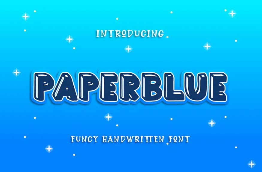Paperblue Font
