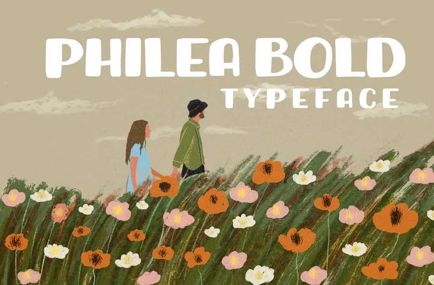 Philea Bold Font