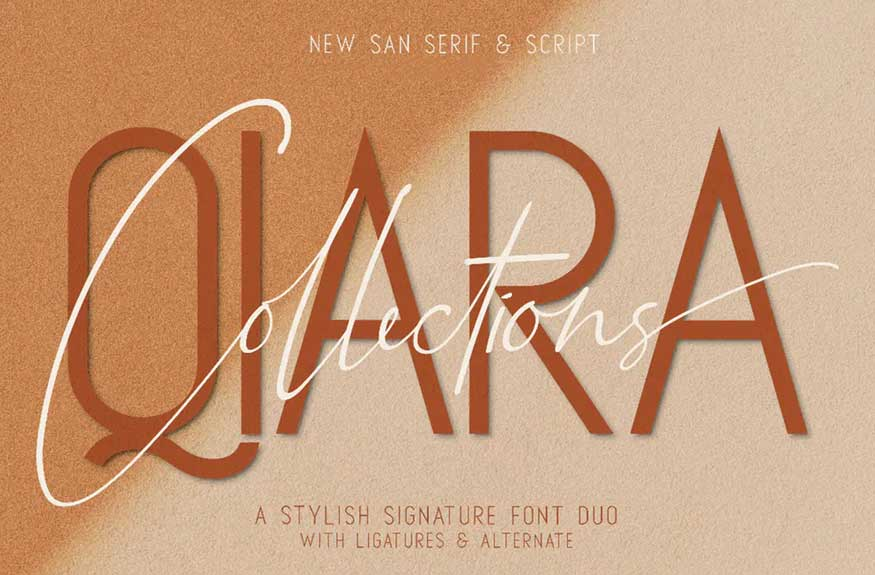 Qiara Collections Font