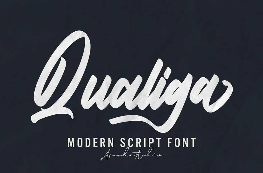 Qualiga Font