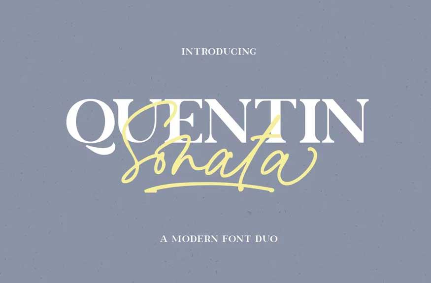 Quentin Sonata Font