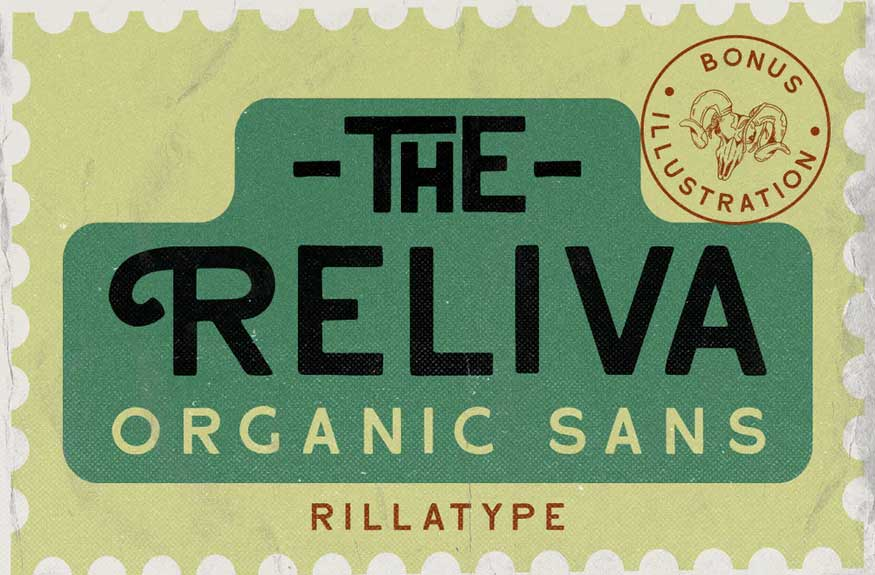 Reliva Font
