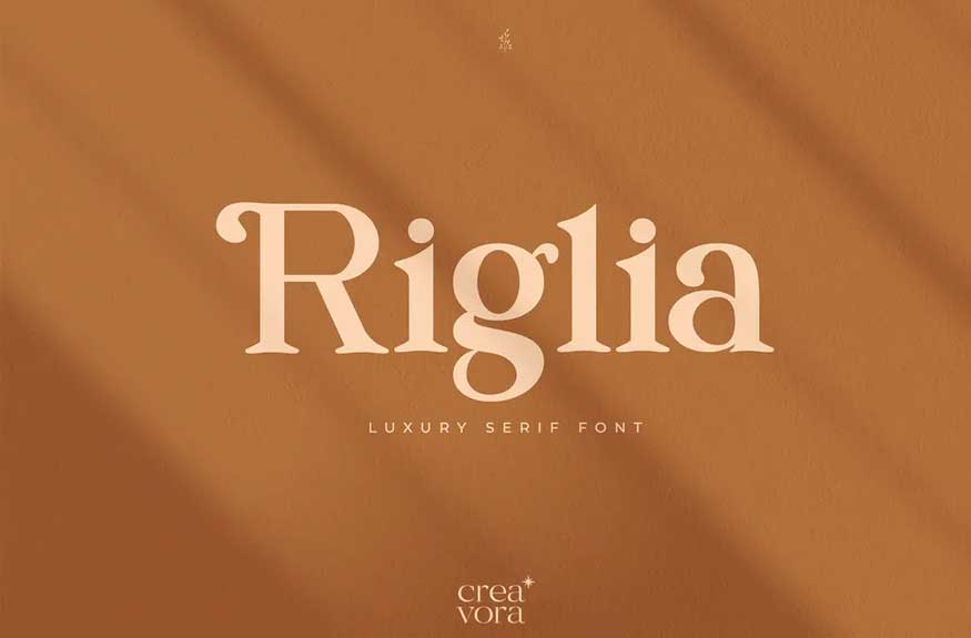 Riglia - Luxury Serif Font