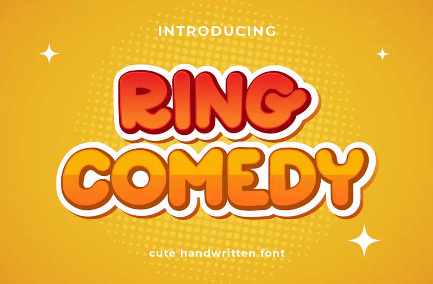 Ring Comedy Font