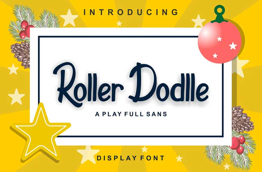 Roller Dodlle Font