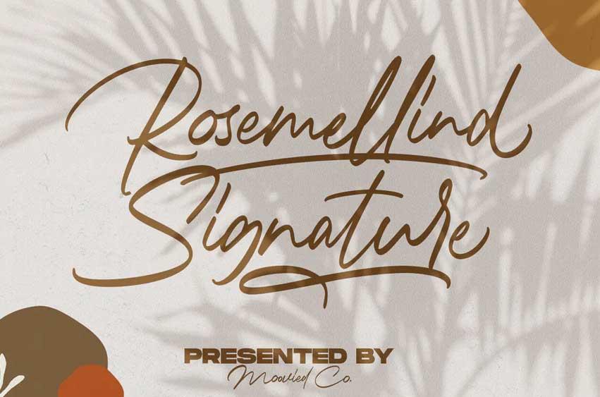 Rosemellind Signature