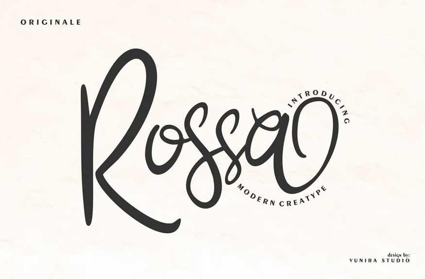 Rossa Font