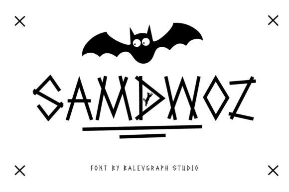 Samdwoz Font