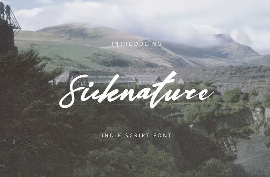 Sicknature Font