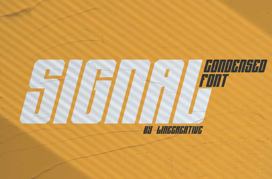 AJ Signal Font