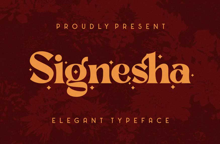 Signesha Font