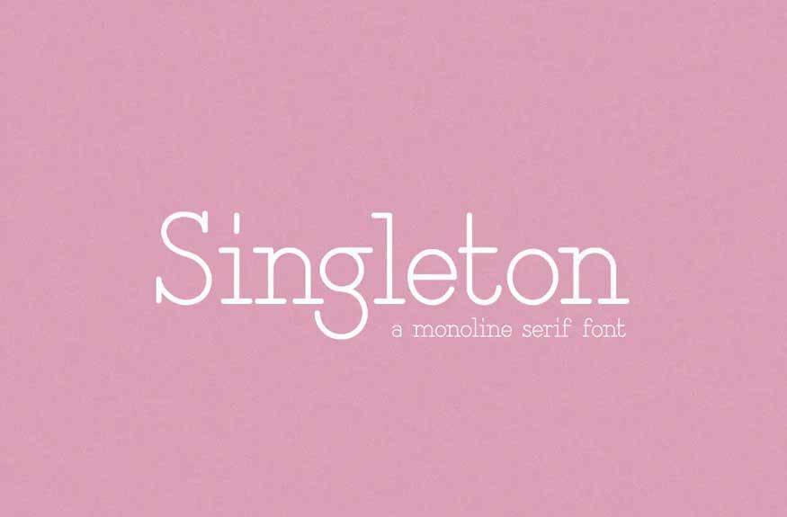 Singleton Font