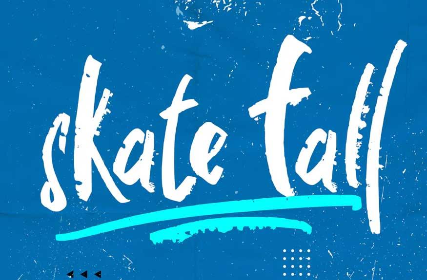 Skate Fall Font
