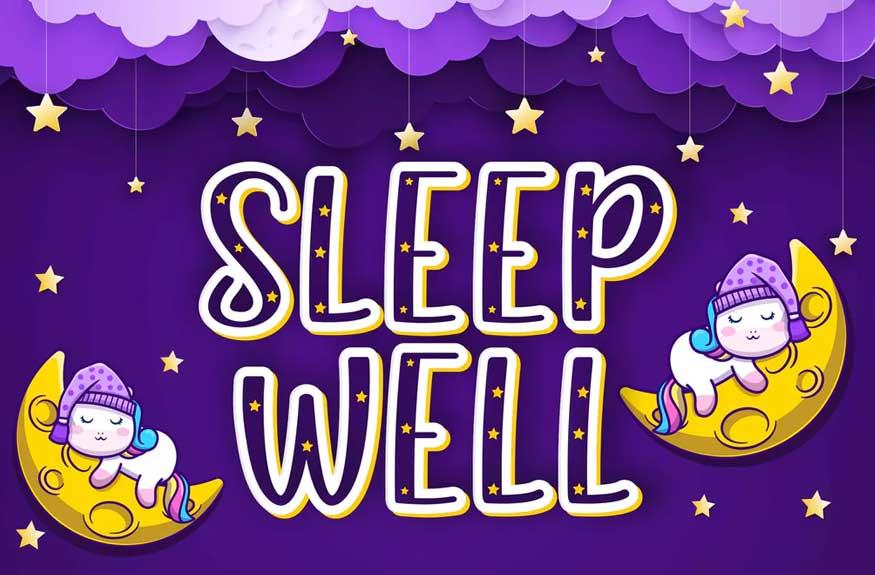 Sleep Well Font