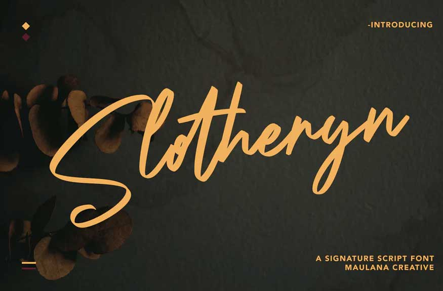 Slotheryn Font