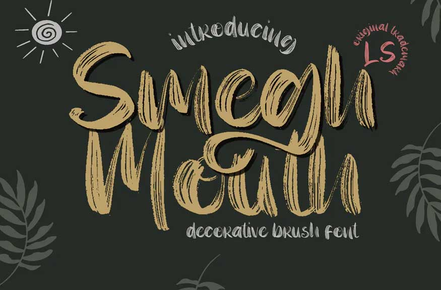 Smegh Mouth Font