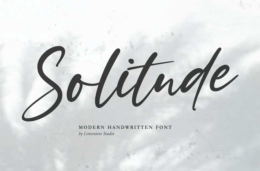 Solitude Font