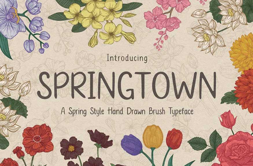Springtown Font