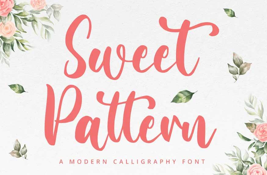 Sweet Pattern Font