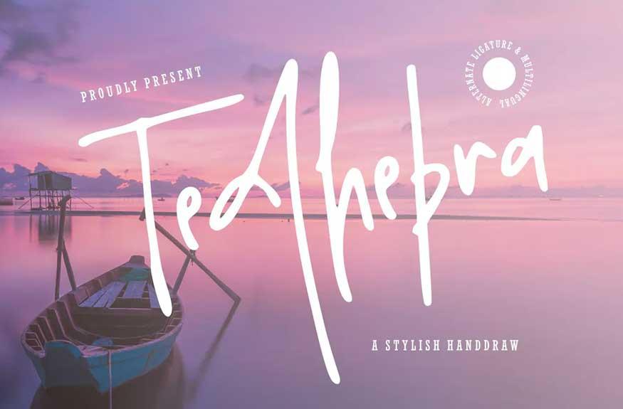 Tedhebra Font