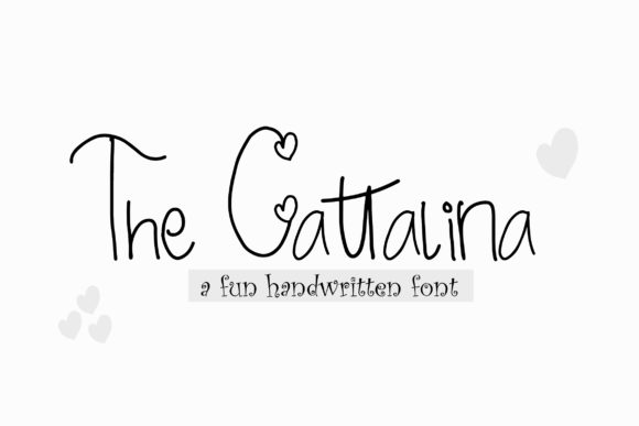 The Cattalina Font