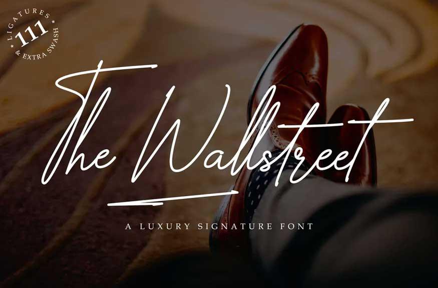 The Wallstreet Font