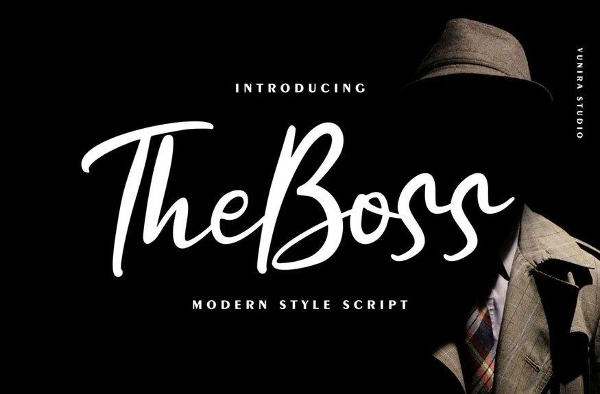 The Boss | Modern New Script