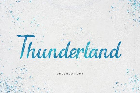 Thunderland Font