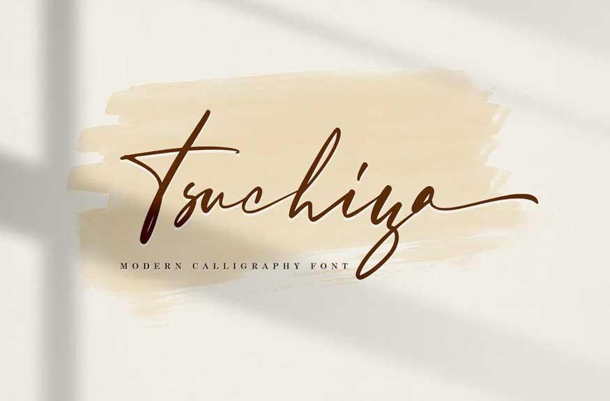 Tsuchiya Signature Font